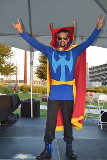 Costume Contest Winner - Traditional Superhero: Dr. Strange - Anthony Rezendes | by CASA of Travis County