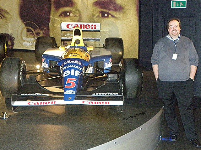 Nigel Mansell's championship winning 1992 FW14B
