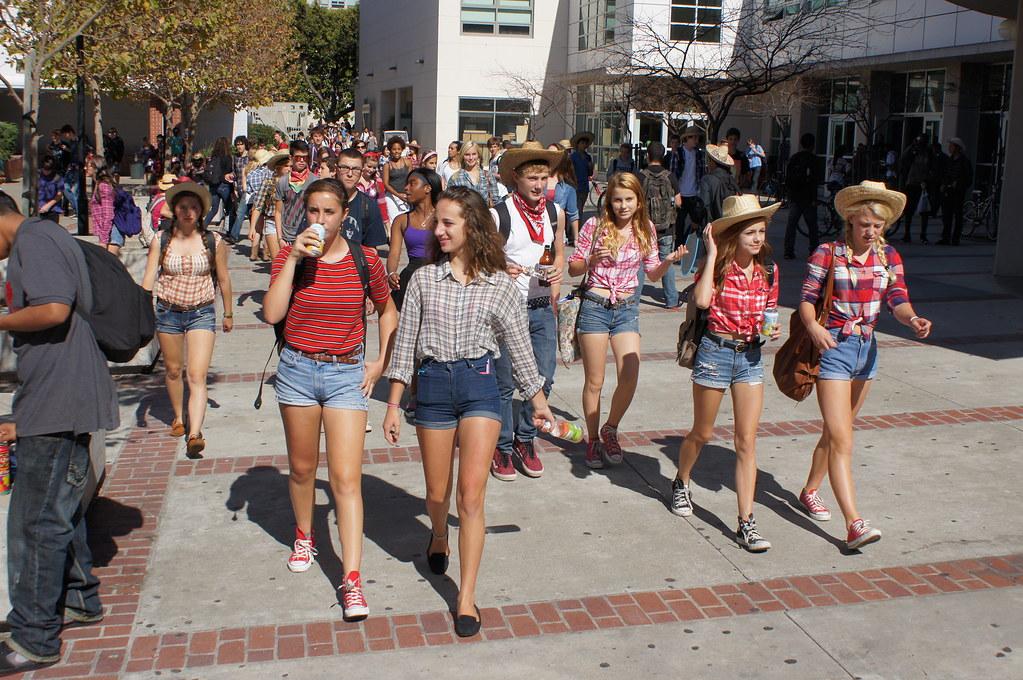 BHS Spirit Week 2012 Day Three 203   Mark Coplan's Berkeley Public School  Photos   Flickr