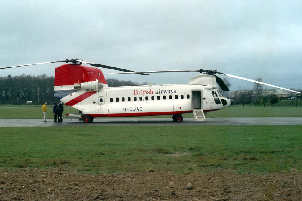 G-BJAC Boeinng-Vertol BV.234LR Chinook British Airways   Flickr