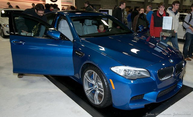 2013 Washington Auto Show - Lower Concourse - BMW 5