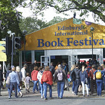 Entrance Tent   A busy opening weekend at the Book Festival © Helen Jones