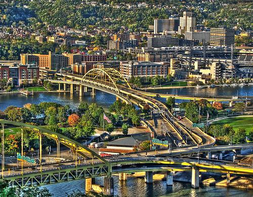 Pittsburgh Bridges   by dok1