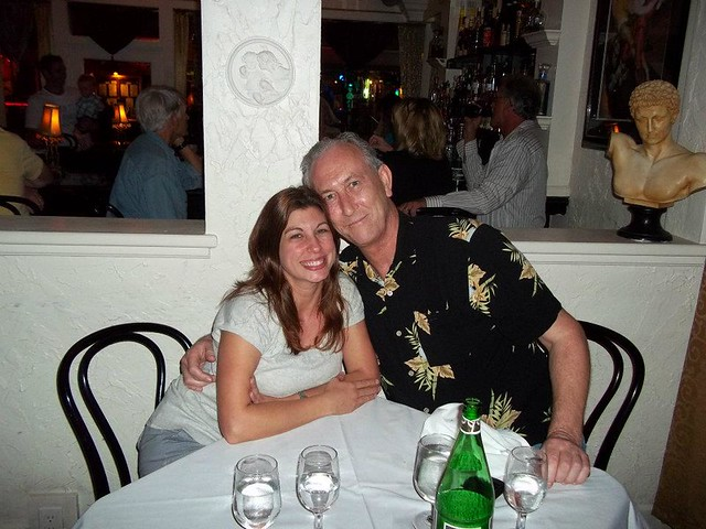 Michelle & Me. Dinner At La Trattoria In Key West