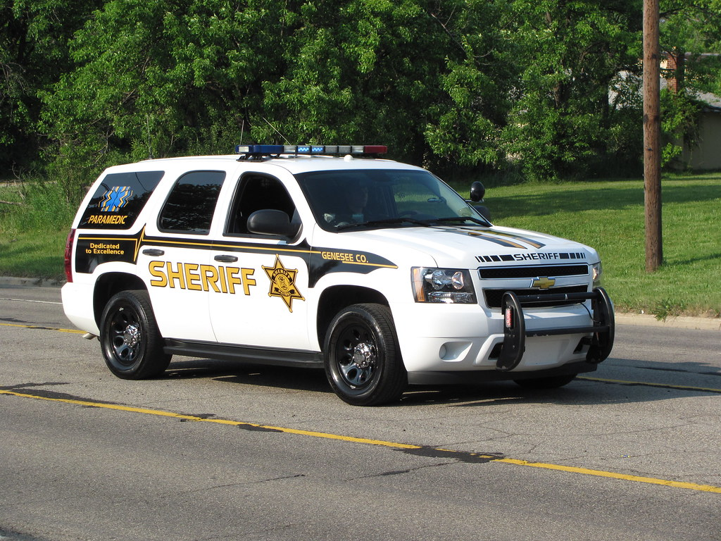 Genesee County Sheriff | Chevrolet Tahoe of the Genesee ...