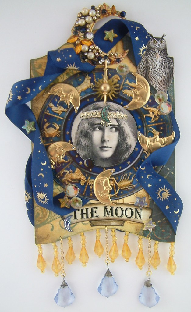 The Moon Tarot Card | To see more of my art, download free i
