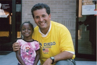 Juan in New Orleans after Hurricane Katrina