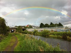 Rainbow over Louisa Bridge