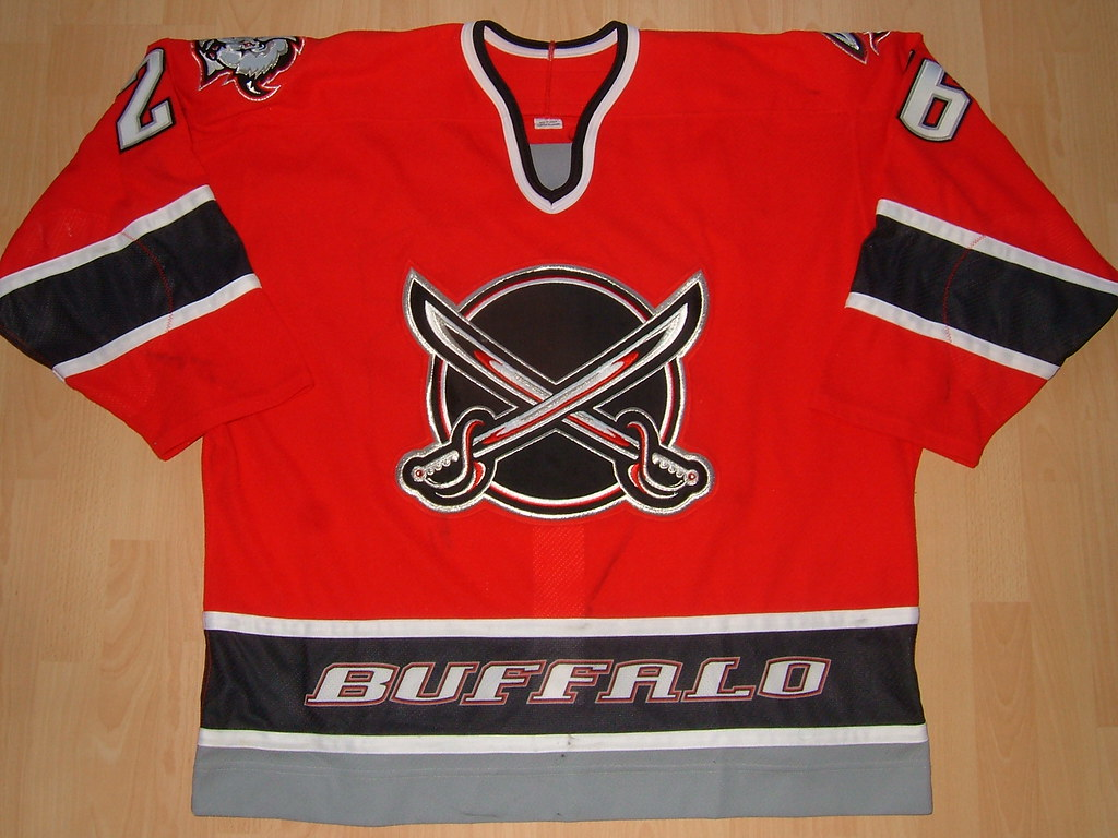 official photos ab828 8dde5 Buffalo Sabres 2000 - 2001 alternate Game Worn Jersey | Flickr