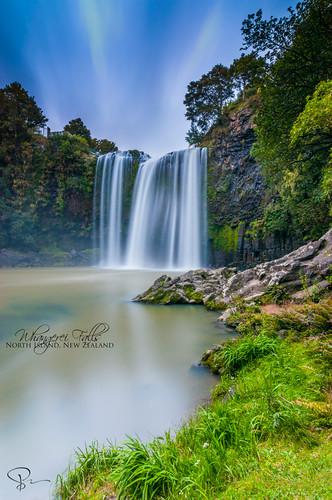longexposure newzealand fall water waterfall northisland northland whangerei glenbervie whangereifalls