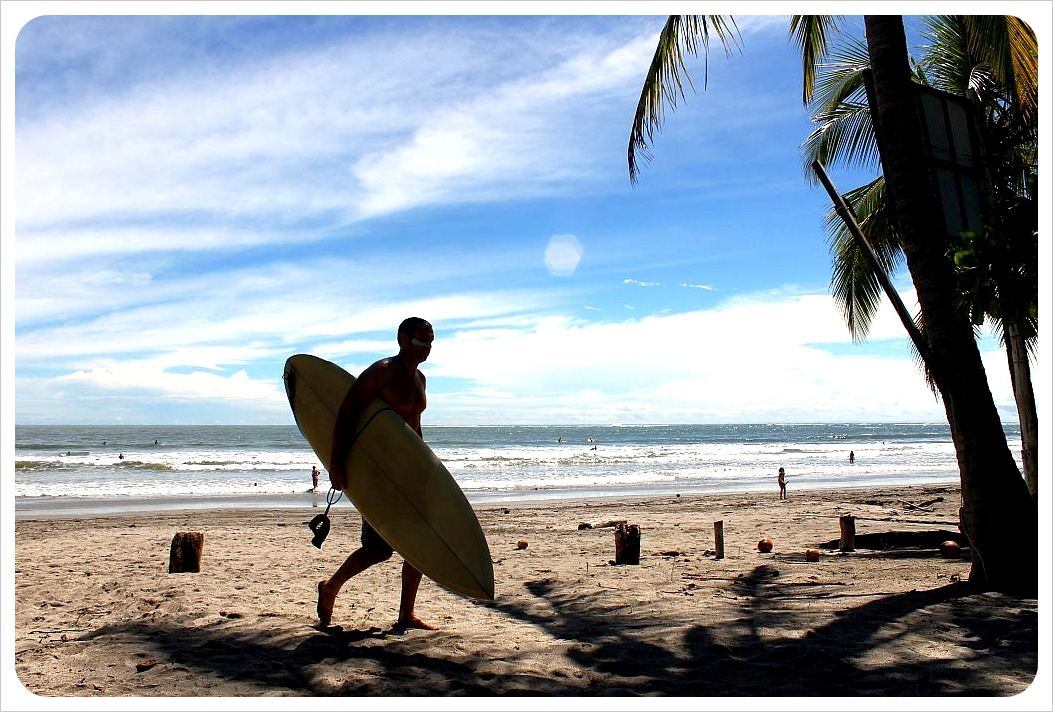 samara beach surfer