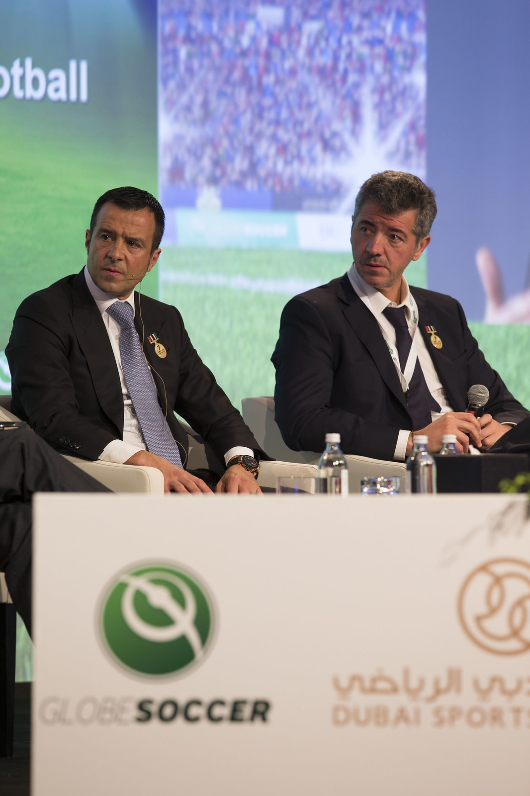 Jorge Mendes and Miguel Angel Gil