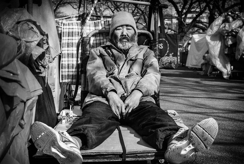Ueno Homeless Man