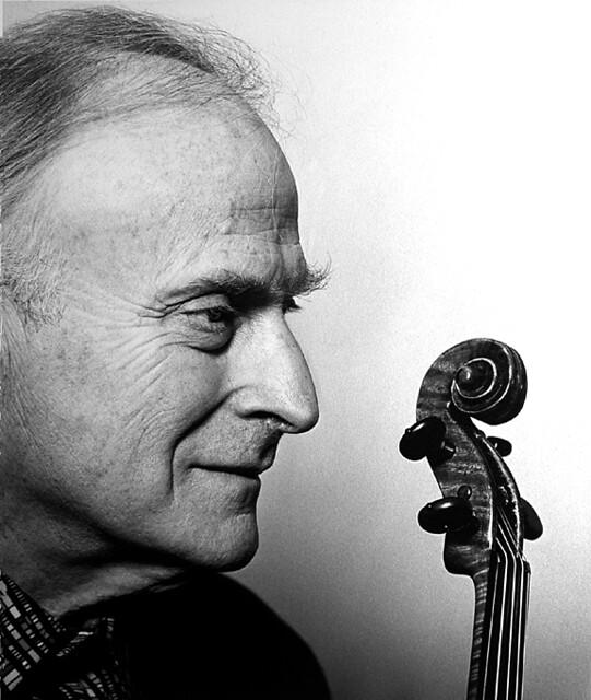 Lord Yehuddi MENUHIN, violin virtuoso