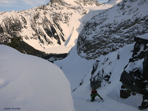 Sat, 2013-02-02 16:14 - Pemberton British Columbia.... Skier Mike Traslin.... photo Andy Traslin