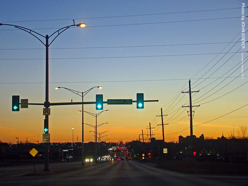 morning driving january kansas 2012 overlandpark beforesunrise joco johnsoncounty 135thst 135thstreet driverpic january2012