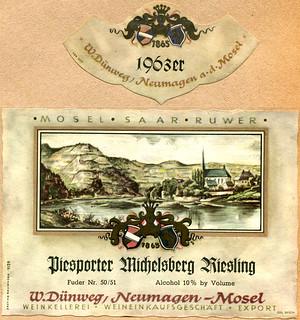 1963 - Piesporter Michelsberg (Mosel)