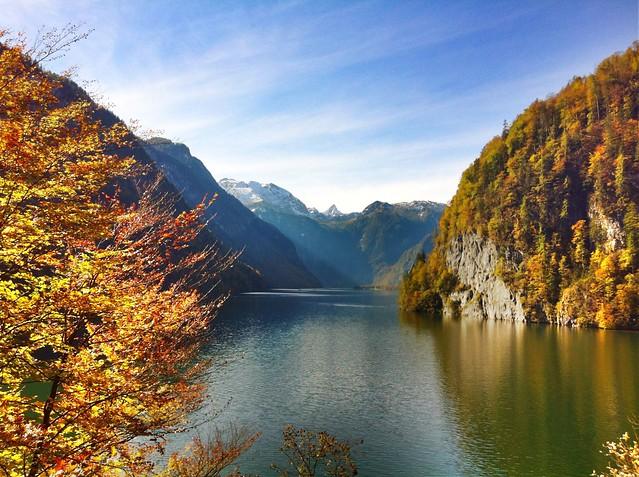Autumn at the Königssee