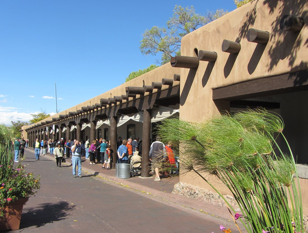 Native American Market at the Palace of the Governors