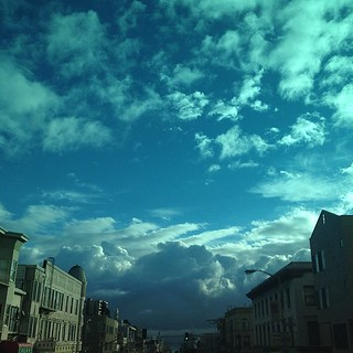 Monday morning #cloudporn #sf | by sarahwulfeck