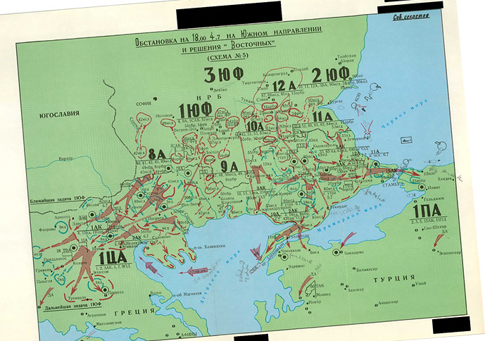 Soviet Map 05 - Warsaw Pact Greece, Turkey Plans   June 1970…   Flickr