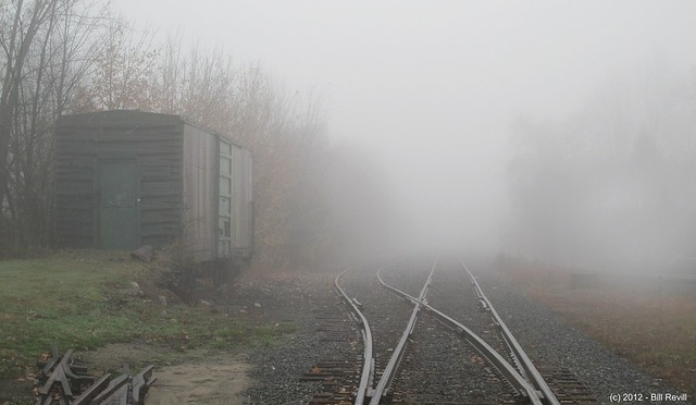foggy tracks...