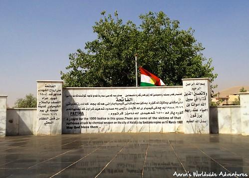 cemetery iraq kurdistan halabja massgrave iraqikurdistan halabjamassacre