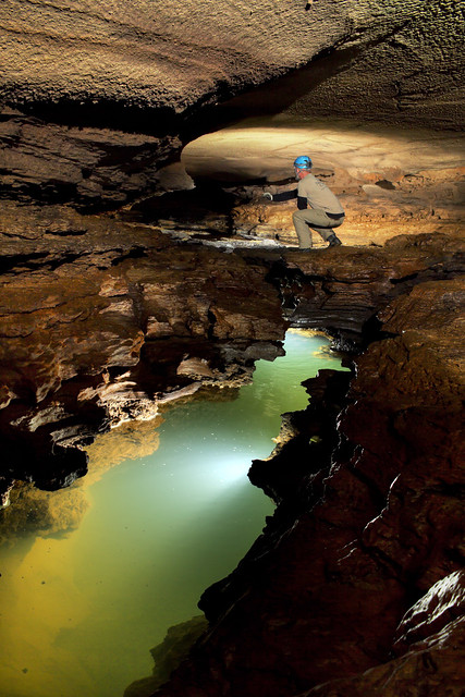 Alfred Crabtree, Haskell Sims Cave, White Co, TN