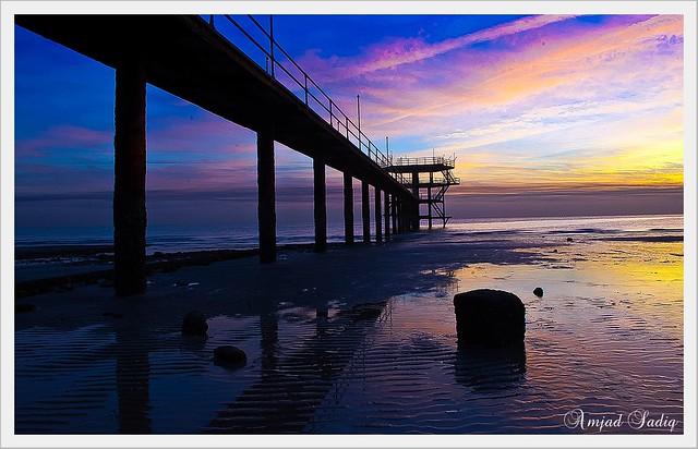 Before Sunrise Al fintas Beach Kuwait