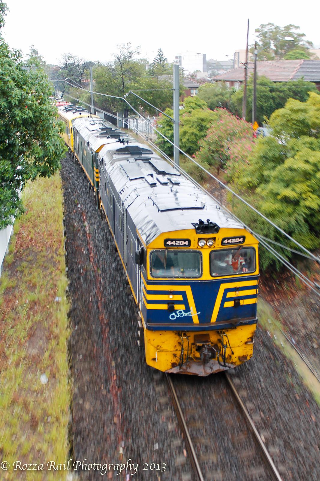 44206/44204/B61/B65 lead works train by Roy