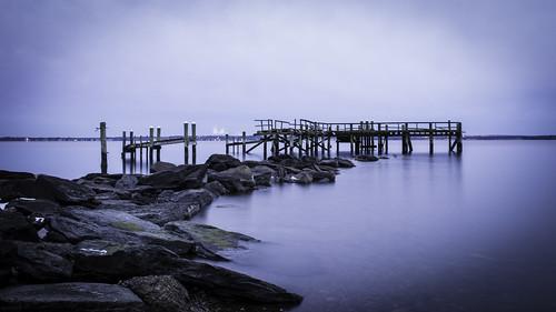 ocean ri winter cold abandoned point island pier cool dock rocky eerie creepy rhodeisland rhode rockypoint