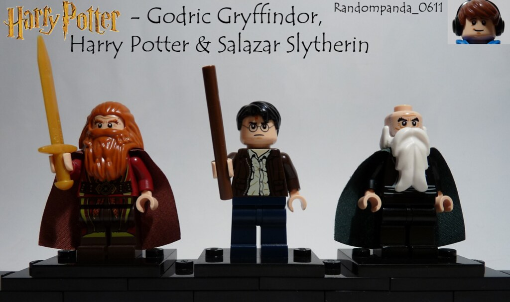 Godric Gryffindor Harry Potter Salazar Slytherin Flickr