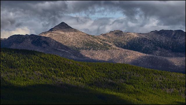 Windy Peak from the Tungsten Mine