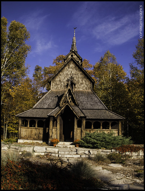 An Abandon Church_in Middle of Washington Island