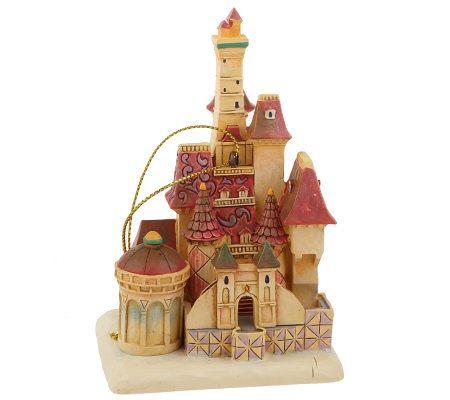 Castle Ornaments Beauty The Beast Jim Shore Disney Tra Flickr