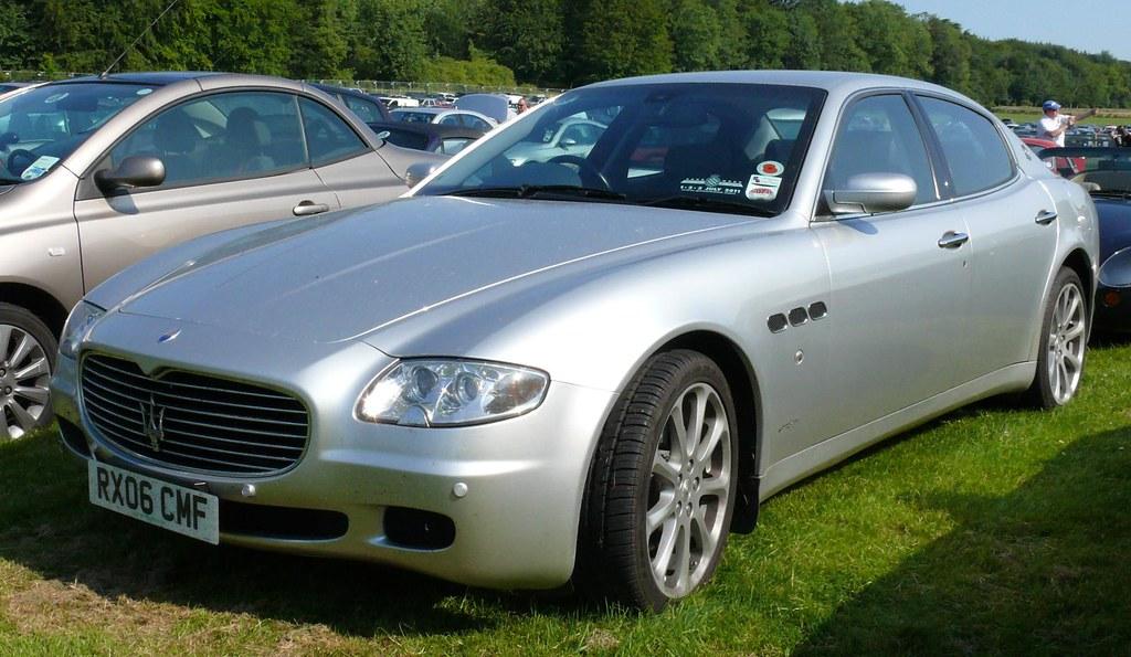 Maserati Quattroporte V 2006 4,2l silver vl | stkone | Flickr