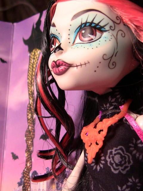 Skelita Calaveras - Scaris City of Fright monster high doll mattel