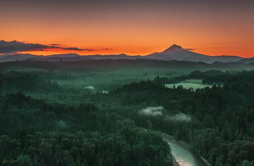 oregon sunrise nikon pacific northwest mount evergreen cascades mthood hood sandyriver blackcard jonsrud sandyor mounthoodscenicbyway d800e