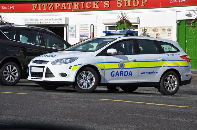 An Garda Siochana Irish Police Force 2012 Ford Focus Estate Incident Responce Vehicle