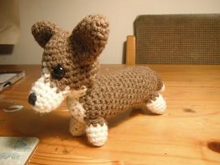 Pembroke Welch Corgi Scarf Crochet Pattern - Crochetions | 240x320