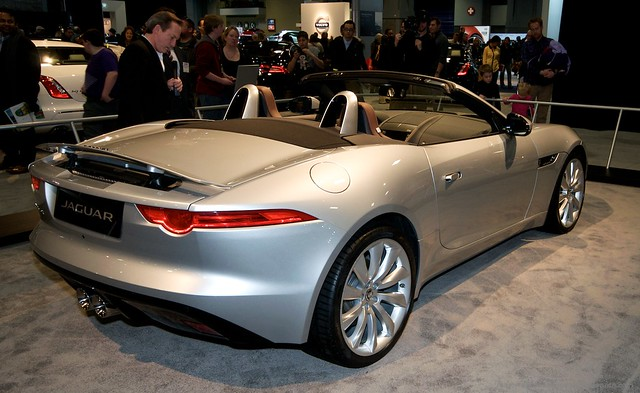 2013 Washington Auto Show - Lower Concourse - Jaguar 6