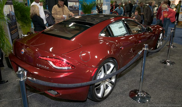 2013 Washington Auto Show - Lower Concourse - Fisker 4