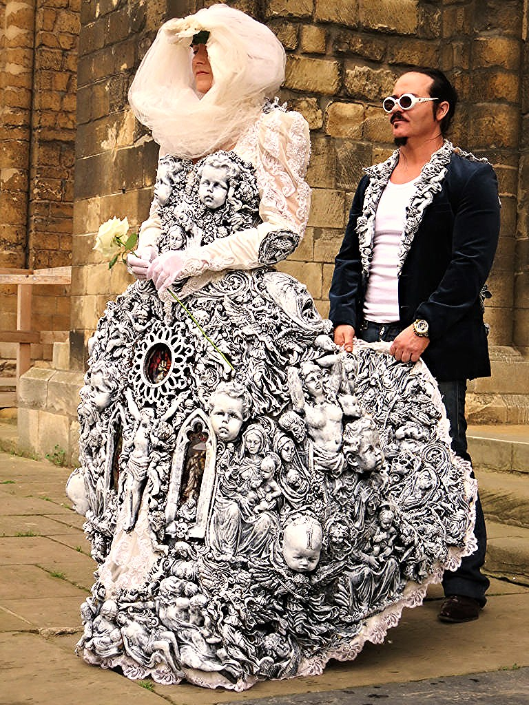 Lincoln Steunk Wedding Dress New Cathedral By Liam Brandon Murray: Cool Steam Punk Wedding Dresses At Websimilar.org