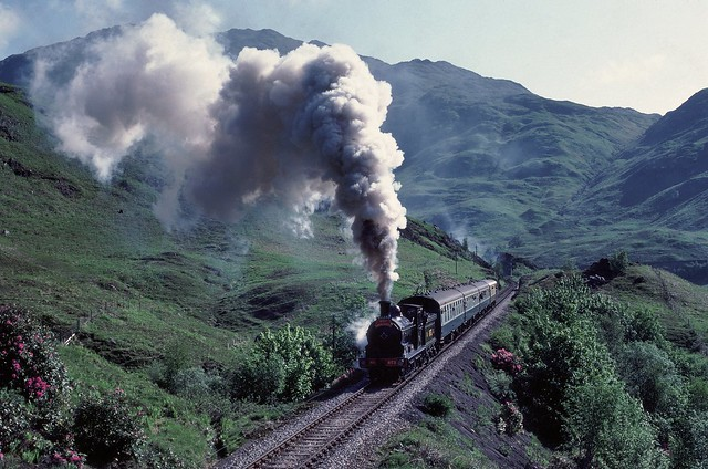 673 on Glenfinnan Bank