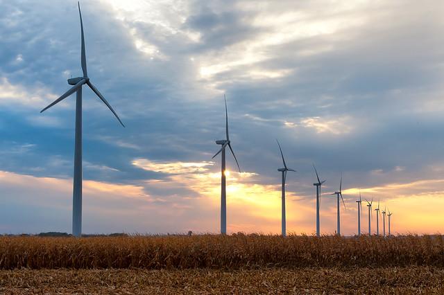 Windmills in Story County, Iowa