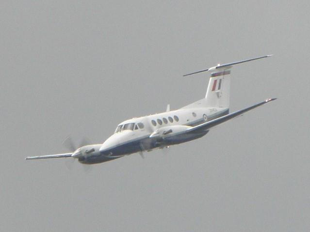 The Beechcraft King Air at the 2010 Farnborough Air Show