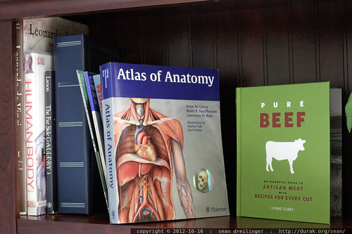 what classification system colocates artisan meat recipes with the atlas of human anatomy?  - _MG_9797 | by sean dreilinger