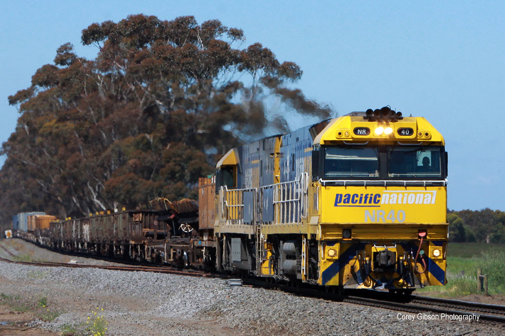 NR40 & NR44 pass through the new Tooli loop by Corey Gibson