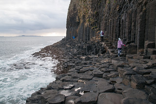 Walking to Fingal's Cave, Staffa | by DavidInc