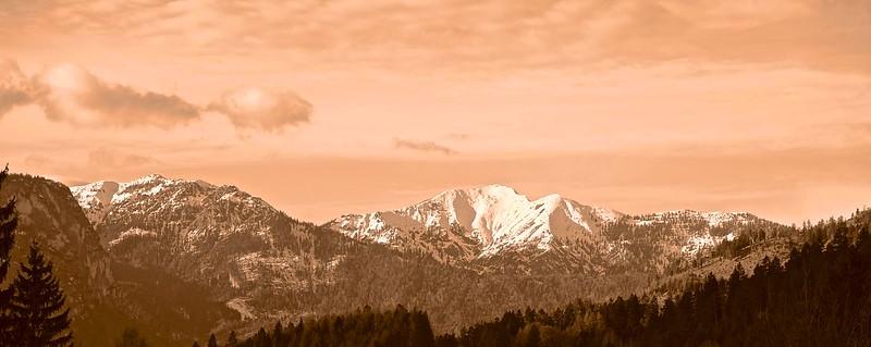Ammergebirge über Garmisch-Partenkirchen